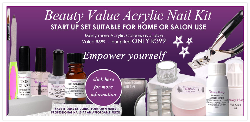 Beauty Value Acrylic Nail Kit