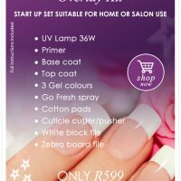 Beauty Value Gel Nail Overlay Kit
