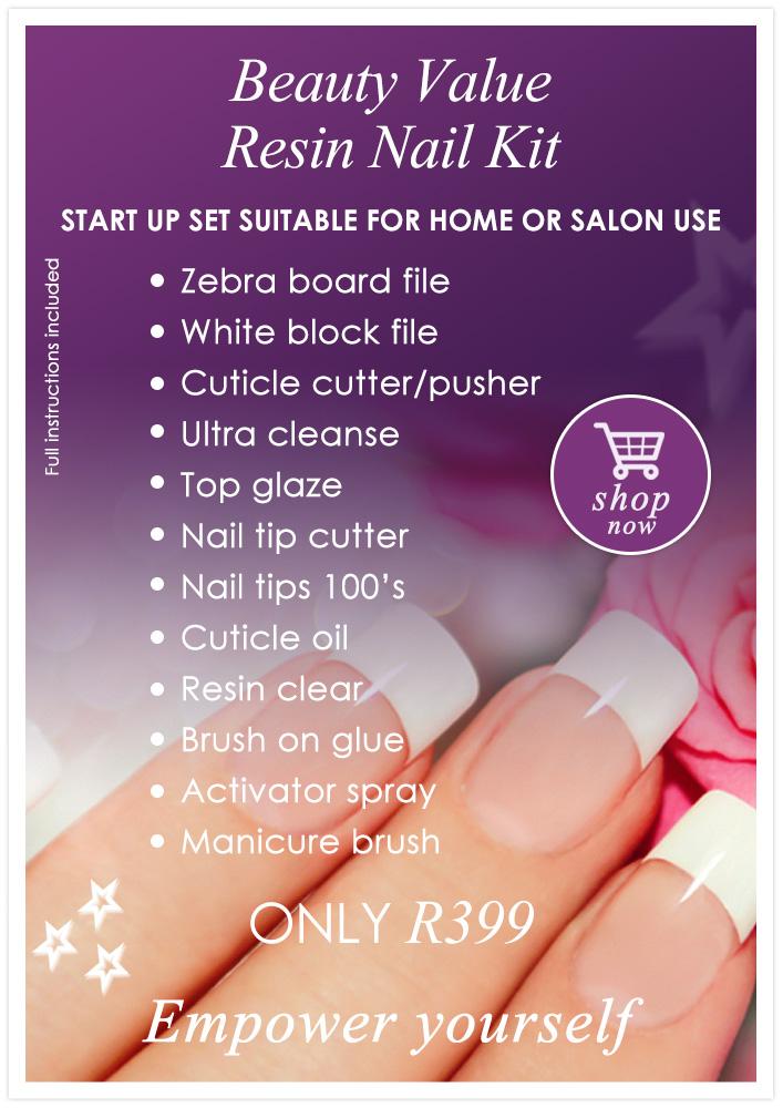 Beauty Value Resin Nail Kit | Beauty Value;